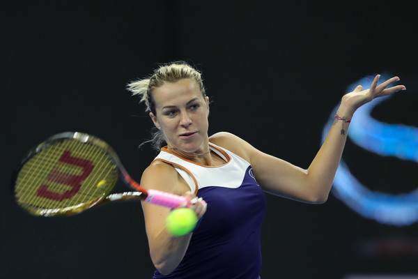 Anastasia Pavlyuchenkova ended 2018 with quarterfinal appearances in Wuhan, Linz, and Moscow | Photo: Lintao Zhang/Getty Images AsiaPac