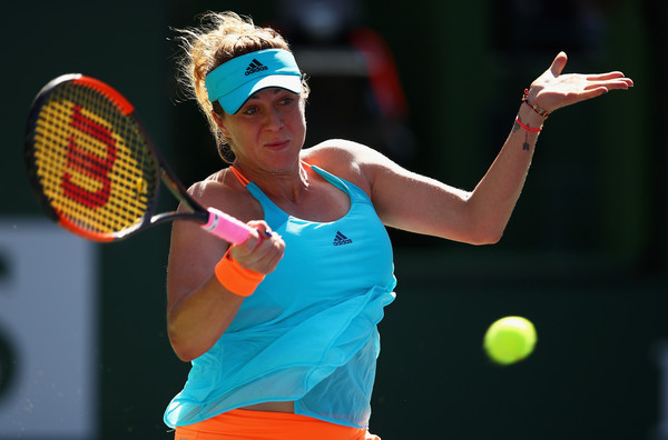 Anastasia Pavlyuchenkova at the BNP Paribas Open | Photo: Clive Brunskill/Getty Images North America