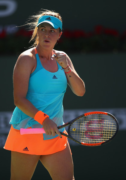 Anastasia Pavlyuchenkova has been in great form this fortnight | Photo: Clive Brunskill/Getty Images North America