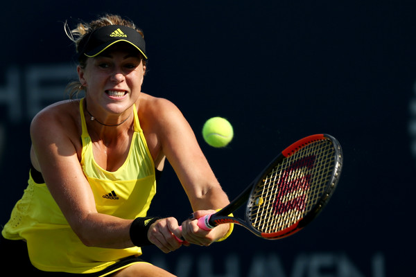 Anastasia Pavlyuchenkova in action at the Connecticut Open | Photo: Maddie Meyer/Getty Images North America