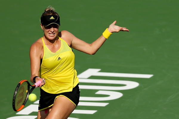 Anastasia Pavlyuchenkova just beat Christina McHale in New Haven last week | Photo: Maddie Meyer/ North America