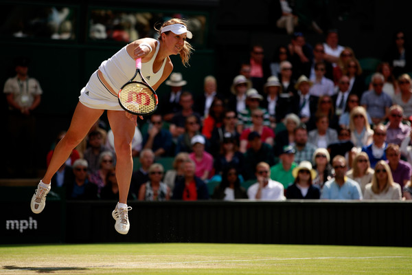 Anastasia Pavlyuchenkova put up a tough fight against Serena Williams last year | Photo: Adam Pretty/Getty Images Europe