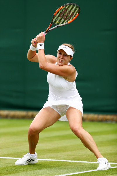 Anastasia Pavlyuchenkova in action | Photo: Michael Steele/Getty Images Europe