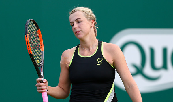 It was a grass-court season to forget for Anastasia Pavlyuchenkova | Photo: Jordan Mansfield/Getty Images Europe