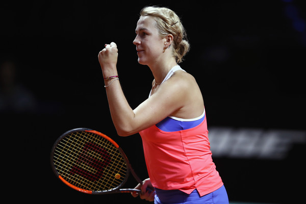 Anastasia Pavlyuchenkova managed to find some form on clay | Photo: Alex Grimm/Getty Images Europe
