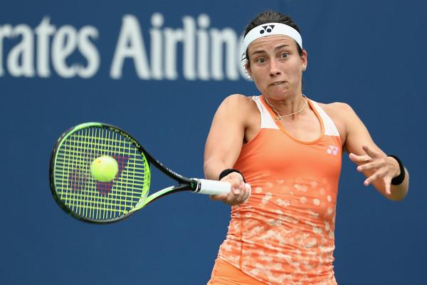 Anastasija Sevastova will make her third consecutive US Open quarterfinal appearance on Tuesday | Photo: Al Bello/Getty Images North America