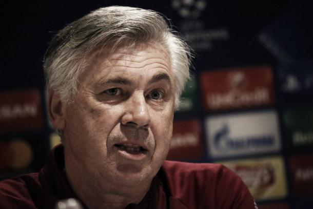 Ancelotti. Foto: Bayern