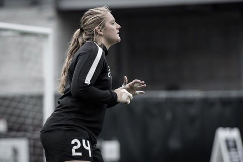 Andi Tostanoski training with the Reign this past season | Source: Seattle Reign