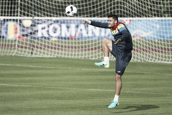 Will Andone start for Romania? | Photo: AFP