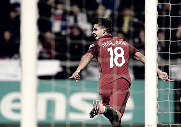 André Silva comemora gol na Eurocopa (Fonte: Getty Images)
