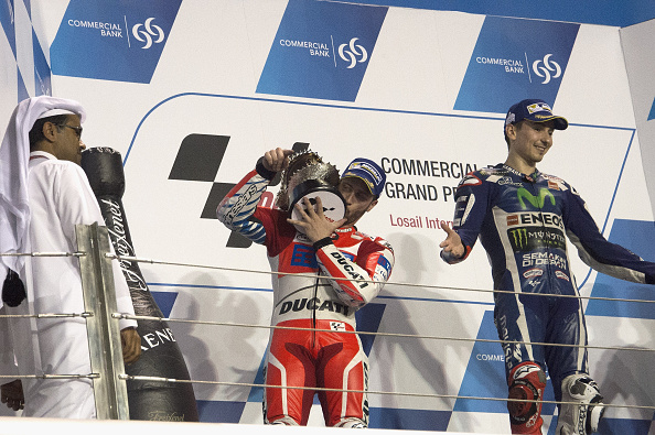 Andrea Dovizioso claims second place | Photo: Mirco Lazzari