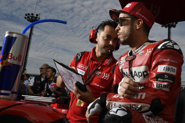 Andrea Dovizioso en el GP de Japón. | Fuente: MotoGP.