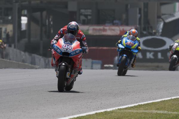 Dovizioso en el GP de Italia. Foto: zimbio
