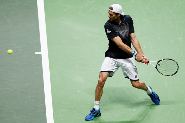 Andreas Seppi sets up for a backhand/Photo: Dean Mouhtaropoulos/Getty Images Europe