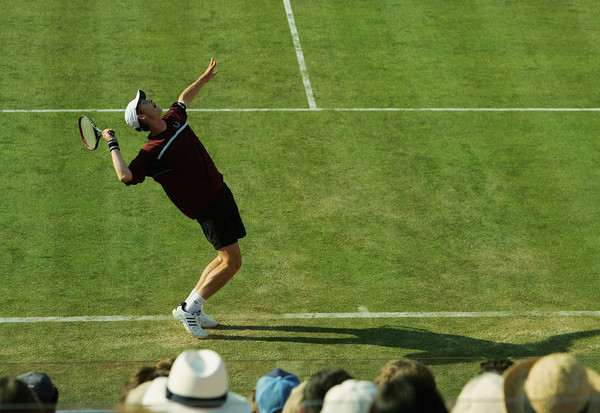 Murray during his first appearance at the tournament in 2005 (Photo by Ian Walton/Getty Images)