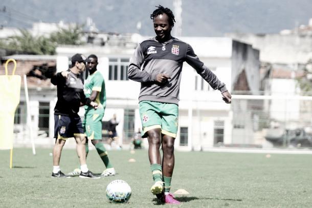 Andrezinho durante treinamento (Foto: Paulo Fernandes/Vasco.com.br)