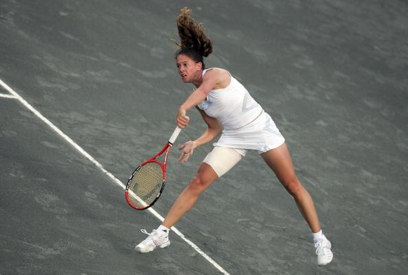 Schnyder in action in Charleston in 2007 (Getty/Andy Lyons)
