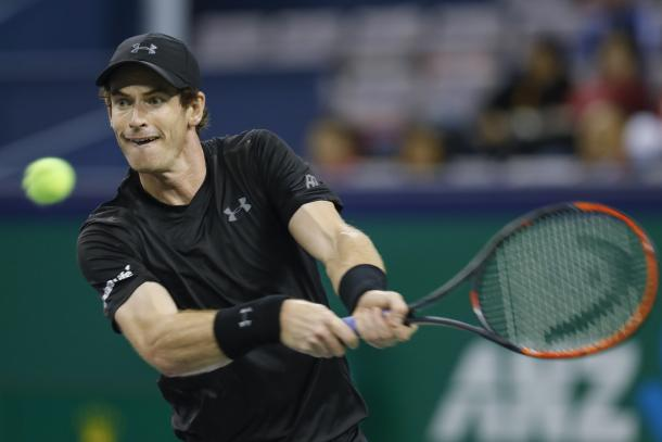 Murray during his second round match (Photo by Lintao Zhang/Getty Images)