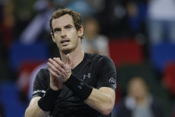 Murray after his semifinal victory (Photo by Lintao Zhang/Getty Images)