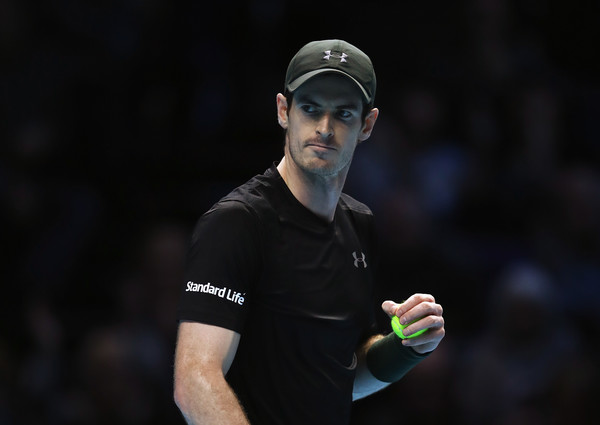 Murray competing against Wawrinka (Photo by Julian Finney / Getty Images)