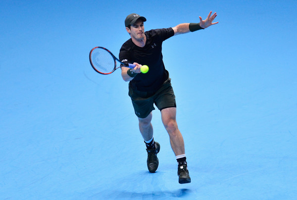 Murray in action (Photo by Justin Setterfield/Getty Images)