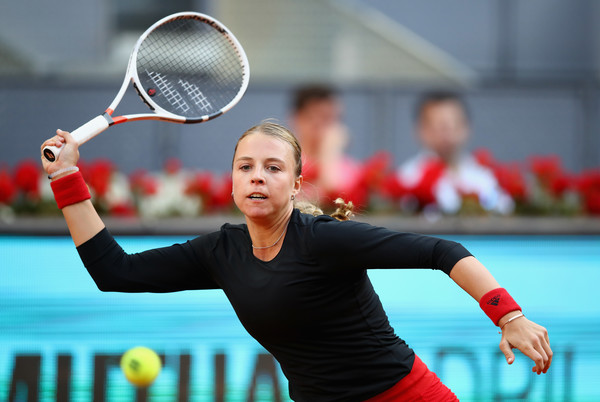 Anett Kontaveit looks to continue riding on her momentum, having reached the semifinals in Stuttgart | Photo: Clive Brunskill/Getty Images Europe