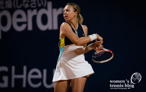 Kontaveit got off to a solid start in Palermo/Photo: Women's Tennis Blog