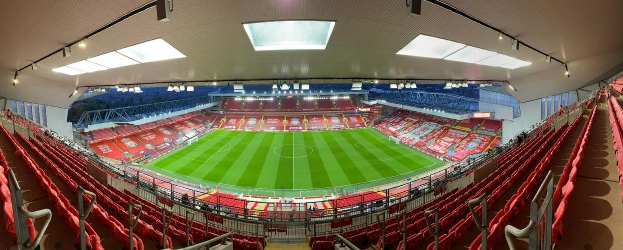 Anfield. / Foto: @LiverpoolFC