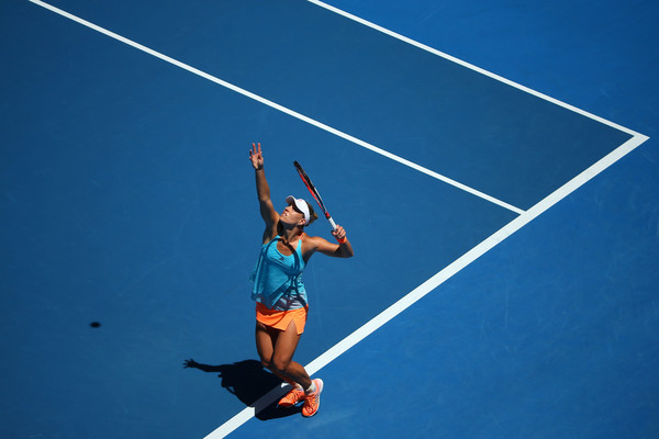 Angelique Kerber looked rusty today | Photo: Michael Dodge/Getty Images AsiaPac