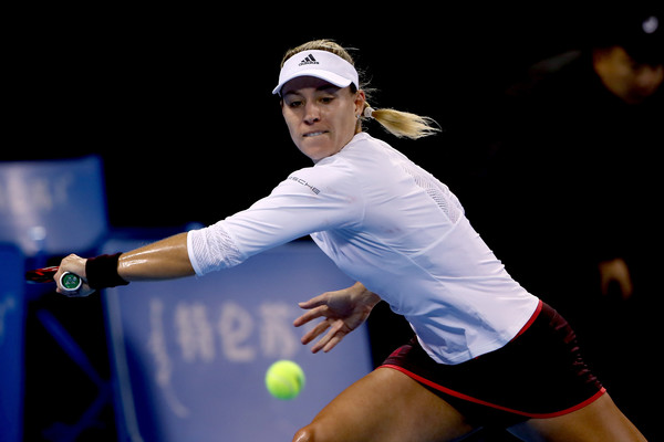 Angelique Kerber in action at the 2017 China Open | Photo: Emmanuel Wong/Getty Images AsiaPac
