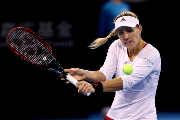 Angelique Kerber will look to have a different 2018 | Photo: Emmanuel Wong/Getty Images AsiaPac