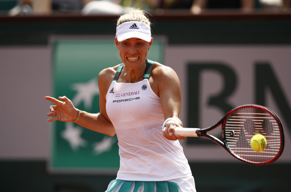 Angelique Kerber fell to a disappointing first-round exit at the French Open | Photo: Adam Pretty/Getty Images Europe