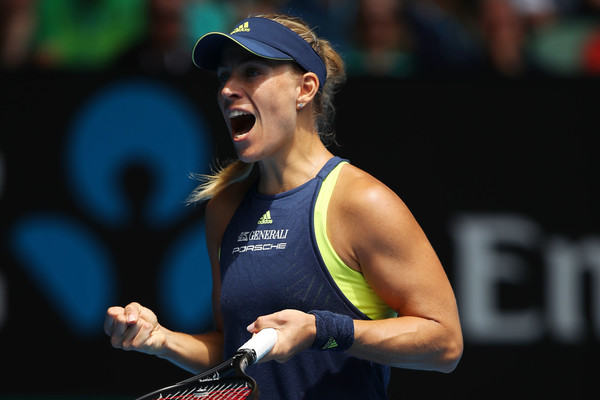 Angelique Kerber had a great start to the year and was expected to fight for the top spot, but her mid-season crisis proved costly | Photo: Cameron Spencer/Getty Images AsiaPac