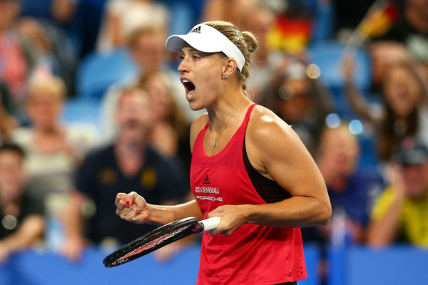 Angelique Kerber was undefeated in her singles matches during the Hopman Cup | Photo: Paul Kane/Getty Images AsiaPac