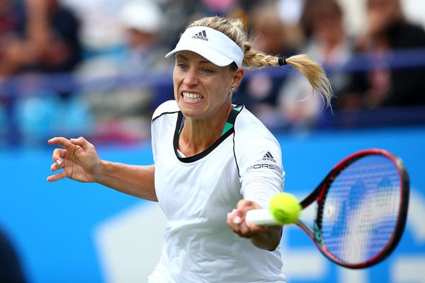 Angelique Kerber in action at the Aegon International | Photo: Charlie Crowhurst/Getty Images Europe