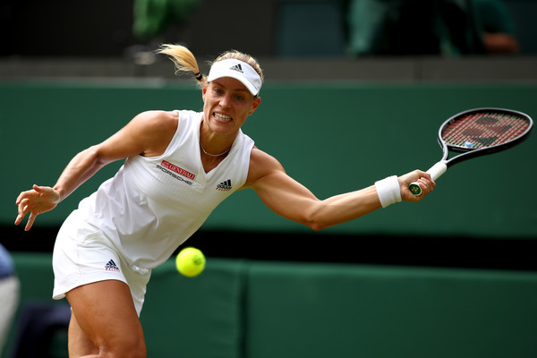 Kerber was looking at her best throughout the encounter | Photo: Clive Brunskill/Getty Images Europe
