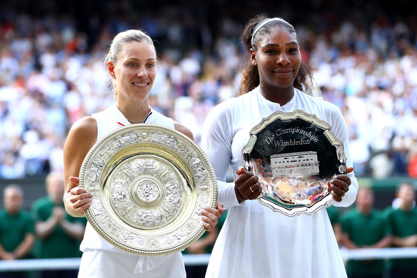 Kerber and Williams, the two finalists of Wimbledon 2018 | Photo: Michael Steele/Getty Images Europe