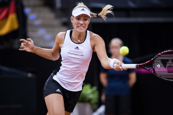 Angelique Kerber representing Germany at the Fed Cup | Photo: Simon Hofmann/Bongarts