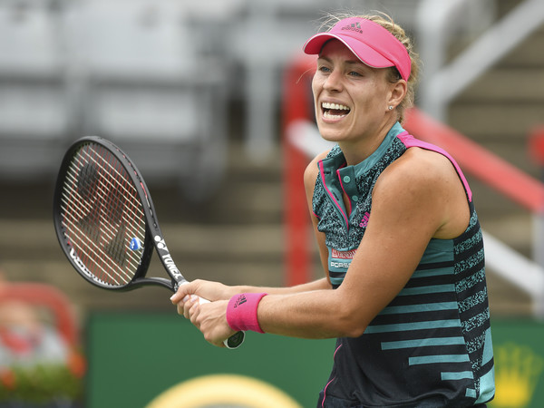 Angelique Kerber definitely did not perform up to her standards today | Photo: Minas Panagiotakis/Getty Images North America
