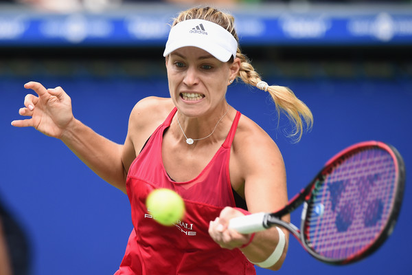 Angelique Kerber in action at the Toray Pan Pacific Open | Photo: Matt Roberts/ AsiaPac