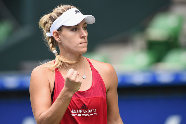 Angelique Kerber looks to come up with a good run here in Zhuhai | Photo: Matt Roberts/Getty Images AsiaPac