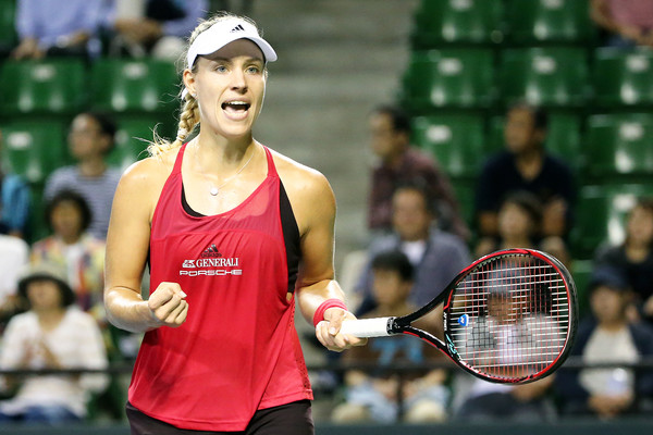 Angelique Kerber seemed to have found some of her best tennis in recent weeks | Photo: Koji Watanabe/ AsiaPac