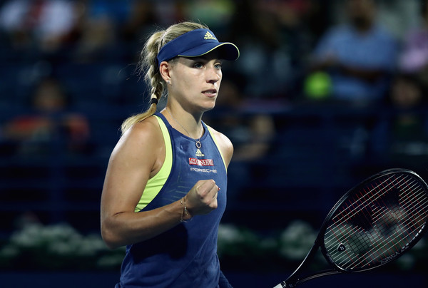 Angelique Kerber's fighting spirit never went away despite trailing on the scoreboard | Photo: Francois Nel/Getty Images Europe