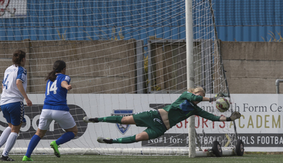 The Belles now have tremendous strength in depth when it comes to goalkeeepers. (Image credit: Doncaster Belles)