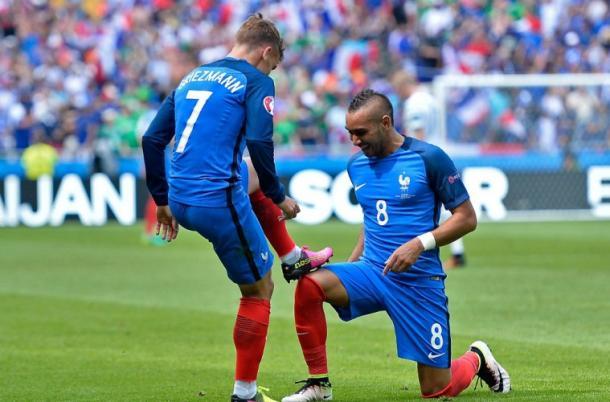 Griezmann y Payet, compañeros en la selección, rivales en la final | Getty