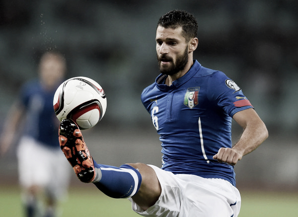 Candreva is currently on international duty with the Azzurri (Source: Zimbio)