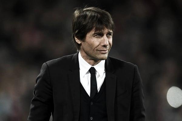 Antonio Conte en el choque ante West Ham (Fotografía: Getty Images Europe)
