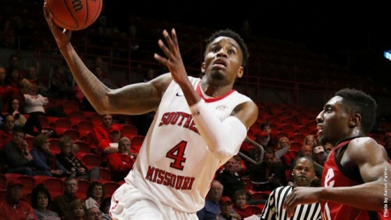 Cleveland is a versatile all-around performer for Southeast Missouri State/Photo: Aaron Palmer