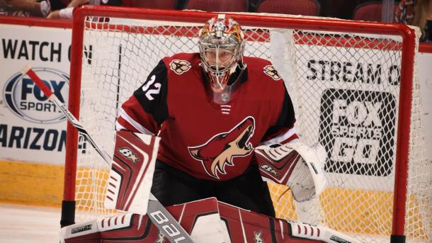 Antti Raanta has been nothing short of brilliant this season. | Photo: NHL.com