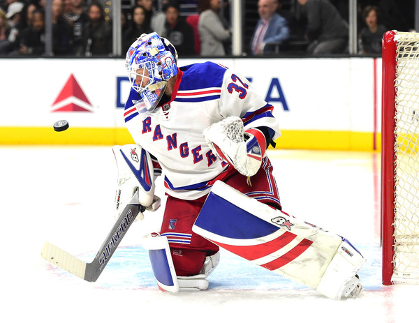 Raanta was stellar in net this season when called upon by the Rangers (Harry How/Getty Images)